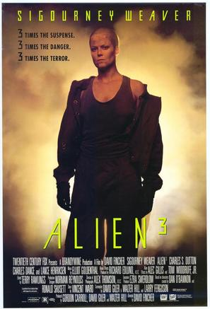 Alien 3 - Movie Poster (thumbnail)