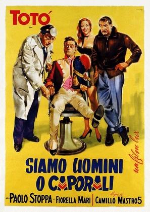 Siamo uomini o caporali - Italian Theatrical poster (thumbnail)