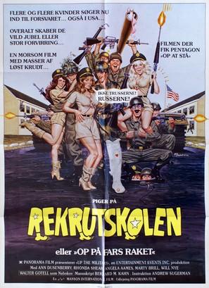 Basic Training - Danish Movie Poster (thumbnail)