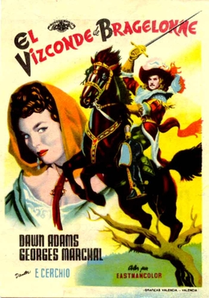 Visconte di Bragelonne, Il - Spanish Movie Poster (thumbnail)