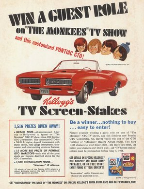 """""""The Monkees"""" - poster (thumbnail)"""