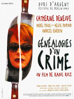 Généalogies d'un crime - French Movie Poster (thumbnail)