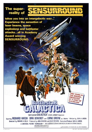 Battlestar Galactica - Movie Poster (thumbnail)