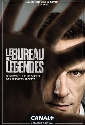 """""""Le Bureau des Légendes"""" - French Movie Poster (thumbnail)"""