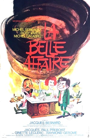 La belle affaire - French Movie Poster (thumbnail)