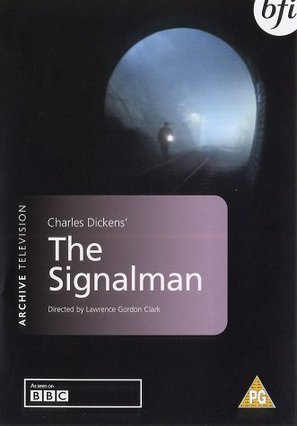 The Signalman - British DVD movie cover (thumbnail)