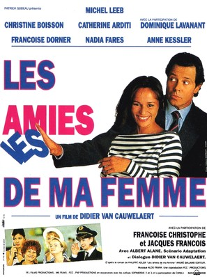 Les amies de ma femme - French Movie Poster (thumbnail)
