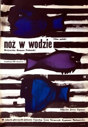 Nóz w wodzie - Polish Movie Poster (thumbnail)