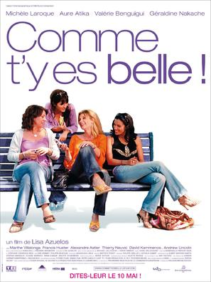 Comme t'y es belle! - French Movie Poster (thumbnail)