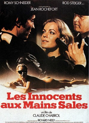 Les innocents aux mains sales - French Movie Poster (thumbnail)
