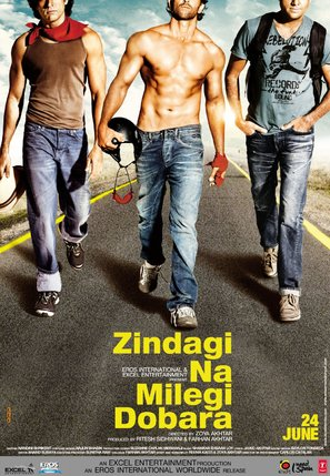 Zindagi Na Milegi Dobara - Indian Movie Poster (thumbnail)
