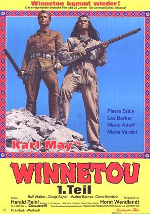 Winnetou - 1. Teil - German Movie Poster (thumbnail)