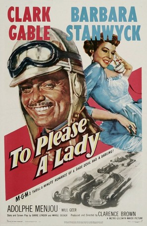 To Please a Lady - Movie Poster (thumbnail)