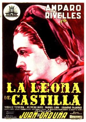 La leona de Castilla - Spanish Movie Poster (thumbnail)