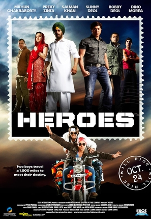 Heroes - Indian Movie Poster (thumbnail)
