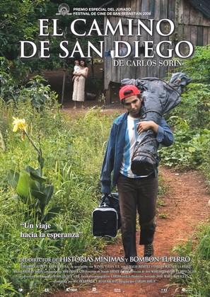 El camino de San Diego - Spanish Movie Poster (thumbnail)