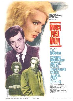 Nunca pasa nada - Spanish Movie Poster (thumbnail)