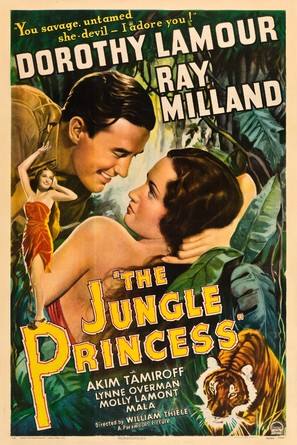 The Jungle Princess - Movie Poster (thumbnail)