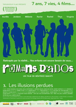Romans d'ados 2002-2008: 3. Les illusions perdues - French Movie Poster (thumbnail)