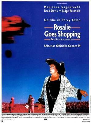 Rosalie Goes Shopping - French Movie Poster (thumbnail)