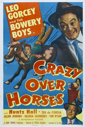 Crazy Over Horses - Movie Poster (thumbnail)