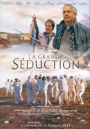 La grande séduction - Canadian Movie Poster (thumbnail)