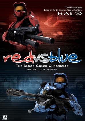 """Red vs. Blue: The Blood Gulch Chronicles"" - Movie Cover (thumbnail)"