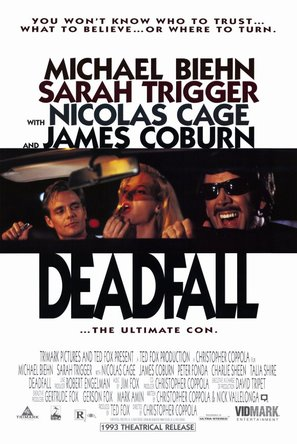 Deadfall - Theatrical movie poster (thumbnail)