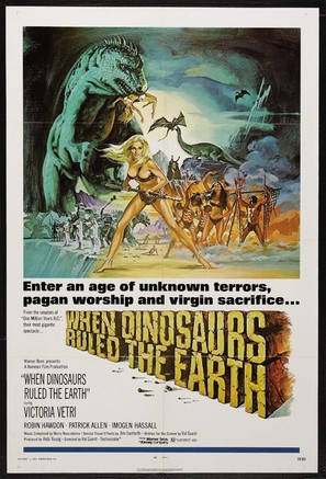 When Dinosaurs Ruled the Earth - Movie Poster (thumbnail)