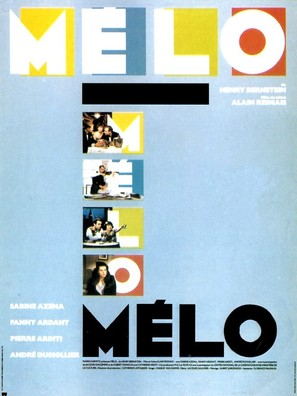 Mélo - French Movie Poster (thumbnail)