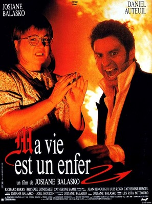 Ma vie est un enfer - French Movie Poster (thumbnail)