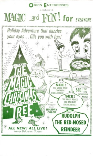 The Magic Christmas Tree - Theatrical poster (thumbnail)