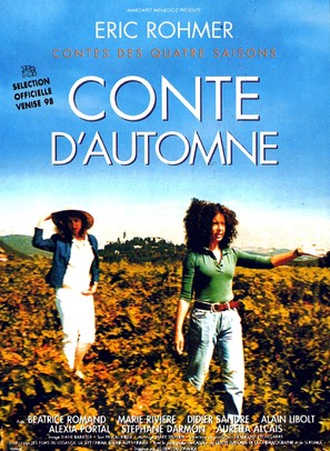 Conte d'automne - French Movie Poster (thumbnail)