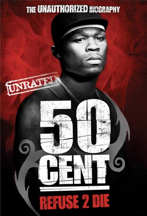 50 Cent: Refuse 2 Die - DVD cover (thumbnail)