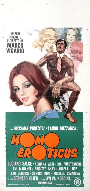 Homo Eroticus - Italian Movie Poster (thumbnail)