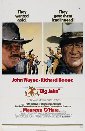 Big Jake - Movie Poster (thumbnail)