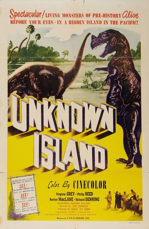 Unknown Island - Movie Poster (thumbnail)