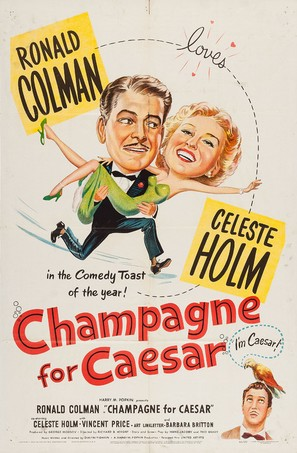Champagne for Caesar - Movie Poster (thumbnail)