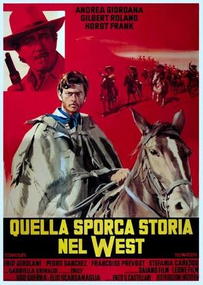 Quella sporca storia nel west - Italian Movie Poster (thumbnail)