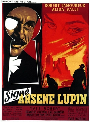 Signé Arsène Lupin - French Movie Poster (thumbnail)
