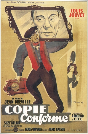 Copie conforme - French Movie Poster (thumbnail)