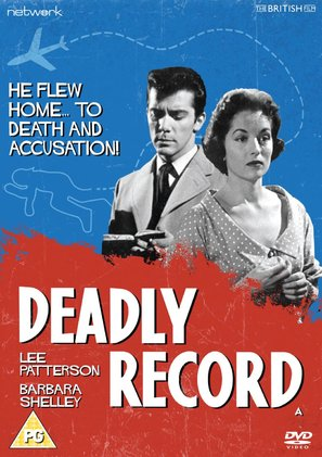Deadly Record - British DVD movie cover (thumbnail)