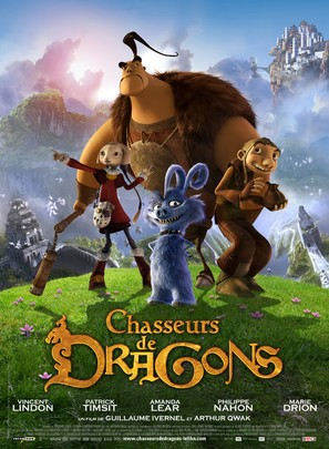 Chasseurs de dragons - French Movie Poster (thumbnail)