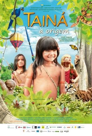Tainá 3 - A Origem - Brazilian Movie Poster (thumbnail)