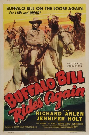 Buffalo Bill Rides Again - Movie Poster (thumbnail)