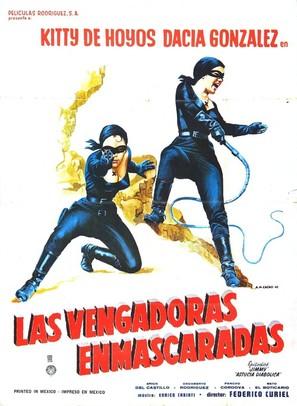 Las vengadoras enmascaradas - Mexican Movie Poster (thumbnail)