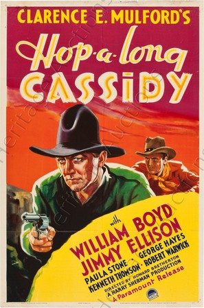 Hop-Along Cassidy - Movie Poster (thumbnail)