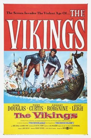 The Vikings - Movie Poster (thumbnail)