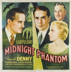 Midnight Phantom - Movie Poster (thumbnail)