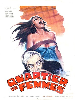 Quartier de femmes - French Movie Poster (thumbnail)